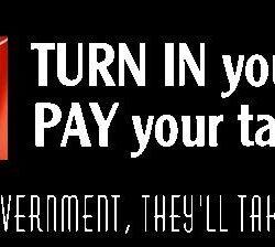 Turn in your guns Bumper Sticker