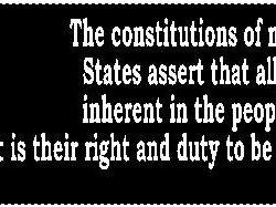 Thomas Jefferson Quote 2 Bumper Sticker