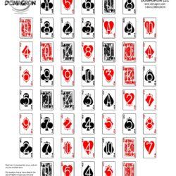 Deck of Cards Poker Shooting Target