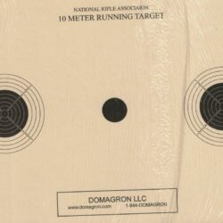 AR-6 - 10 Meter UIT Air Rifle Three Bulleye Official NRA Target