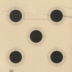 AR-5/5 - 10 Meter 5 Bullseye Air Rifle Target Official NRA Target AR