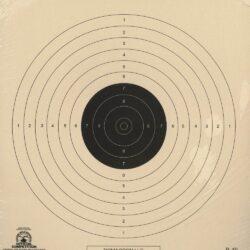 B-40/1 - 10 Meter (33 Ft.) Air Pistol Single Bullseye Official NRA Target