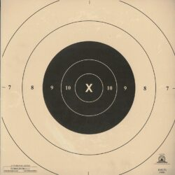 B-8C - Repair Center for the 25 Yard Timed and Rapid Fire B-8 Pistol Target