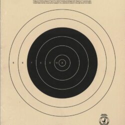 TQ-3/1 - 50 Yard Small Bore Target Rifle Official NRA Target (Pack of 100)