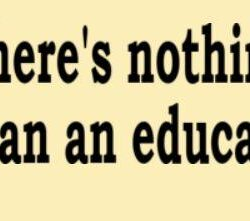 There's Nothing Dumber Than an Educated Liberal Bumper Sticker - Hilary Clinton Version