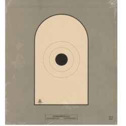 AP-2 - Bianchi Cup Black Center Official 50 Foot Reduction NRA Target of AP-1 Target