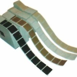"""1"""" Self-Adhesive Square Pasters - 1,000 per roll"""