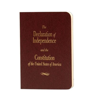 Pocket U.S. Constitution and Declaration of Independence