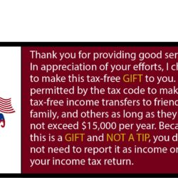 Republican Tip Card Handout (Pack of 100)