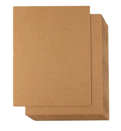 """Paper Target Backer - 10.5"""" x 12"""" for 50 ft targets (Package of 100)"""