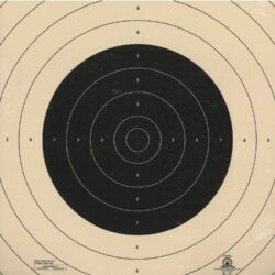 B-19C - Repair Center for the 50 Yard Slow Fire Pistol Target Official B-19 NRA Target (Pack of 100)