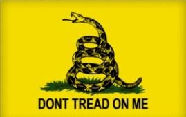 Gadsden Flag - Don't Tread on Me Bumper Sticker
