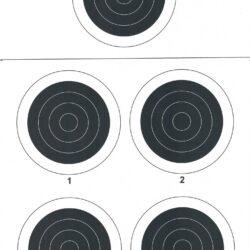 A-31 50 Yard Smallbore Rifle Target (Pack of 100)