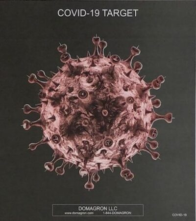 COVID-19 Target (Pack of 100)