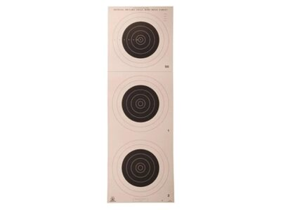 A-25 100 Yard Smallbore Rifle Target (Pack of 50)